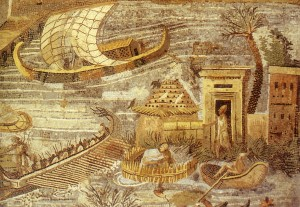 Praeneste_-_Nile_Mosaic_-_Section_17_-_Detail